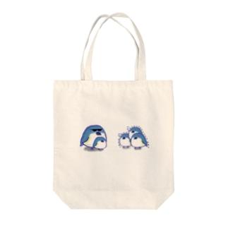 ルリビタキの親分 Tote bags