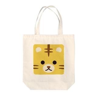 干支-寅-animal up-アニマルアップ- Tote bags