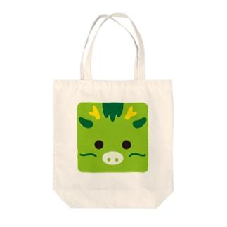 干支-辰-animal up-アニマルアップ- Tote bags