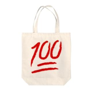 完璧 Tote bags