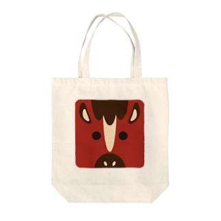 干支-午-animal up-アニマルアップ- Tote bags