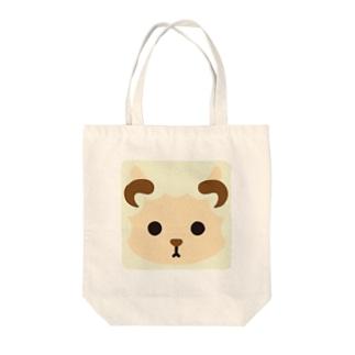 干支-未-animal up-アニマルアップ- Tote bags