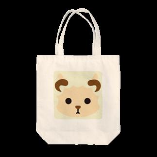 フォーヴァの干支-未-animal up-アニマルアップ- Tote bags