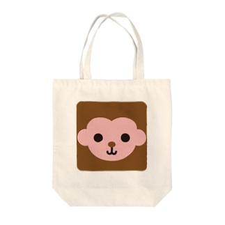 干支-申-animal up-アニマルアップ- Tote bags