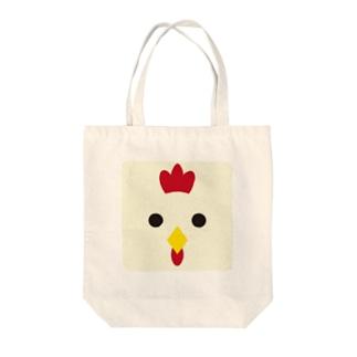 干支-酉-animal up-アニマルアップ- Tote bags