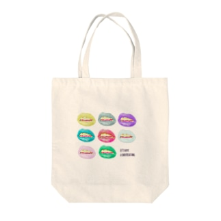 Let's have a conversation Tote bags