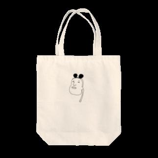 kurubusiの無口人 Tote bags