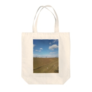 晴天(うまちゃん) Tote bags
