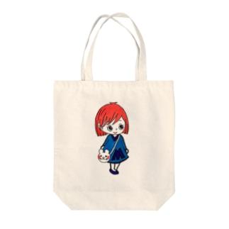 まあみちゃんシリーズ Tote bags