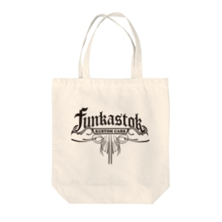 FUNKASTOK-Plaque Tote bags