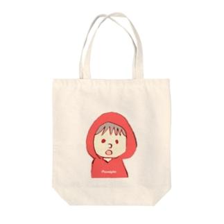 れいんこーと! Tote bags