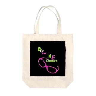bonnechance(うまちゃん) Tote bags