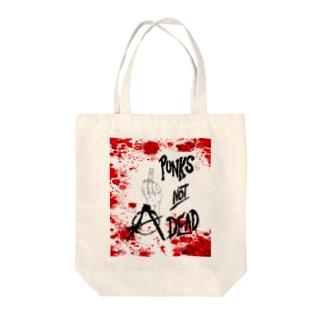 punks Tote bags