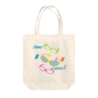 めがね(うまちゃん) Tote bags
