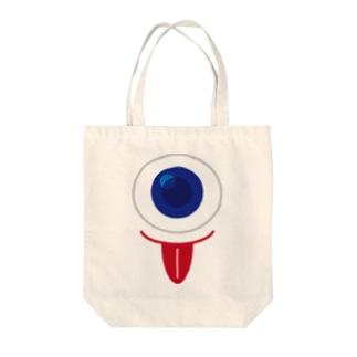 一つ目小僧 Tote bags