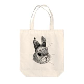 うさぎさんのお顔 Tote bags