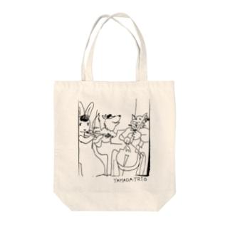 YAMADA TRIO(ヤマダトリオ)のYAMADA TRIOロゴ原案 Tote Bag