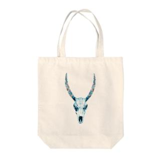 動物の骨 Tote bags