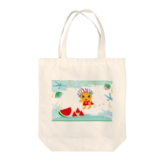 CRECOのスイカでビーチ Tote bags