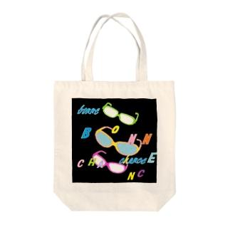 夜のパーティ(うまちゃん) Tote bags