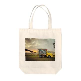 オシムラ 移動販売車バージョンです♪ Tote Bag