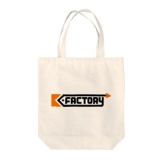 K-FACTORY ロゴ Tote bags