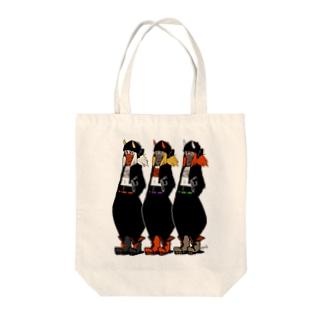 オニチュー! Tote bags