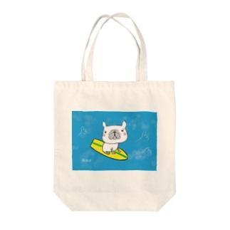サーフィン Tote bags