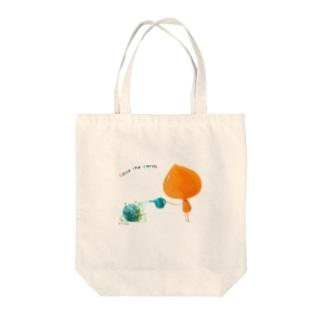 ココロのうつわ (メッセージ付き) Tote bags
