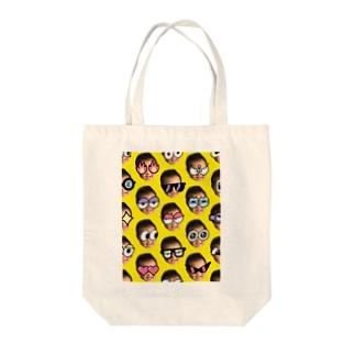 カミツキガメ Tote bags