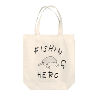 FISHING HERO Tote bags