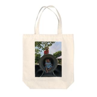 土管 Tote bags