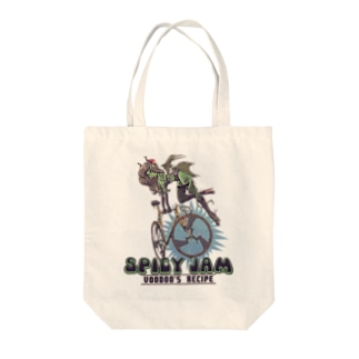 """""""SPICY JAM"""" (green) Tote Bag"""