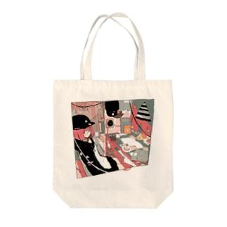 反抗期 Tote bags