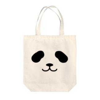 まったりパンダ-フェイス Tote bags