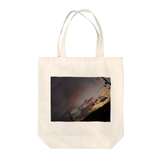 Rinの暖かい夕焼け Tote bags