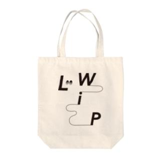LWiP_Original Logo_Black Tote Bag