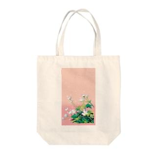 二輪草 Tote bags