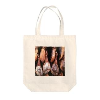 Trip BirdのI love 生ハム♥︎(スペイン) Tote bags
