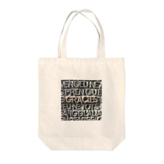 """""""ありがとう""""スペインより Tote bags"""
