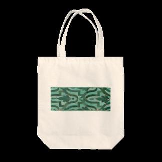 Trip Birdのモロッコのタイル2 Tote bags