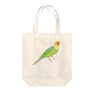 カロライナインコ(大) Tote bags