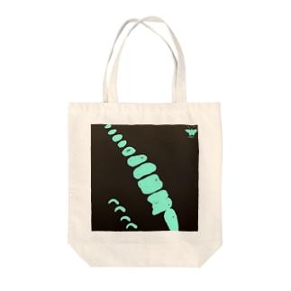 アオスジアゲハ【Always with Bugs・鱗翅パターン】 Tote bags