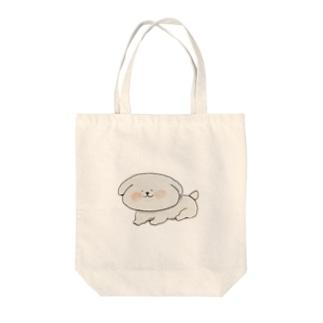 手書きのレイニー・ワン Tote bags