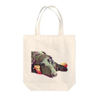 ジョジョ丸 Tote bags