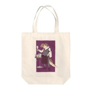 ヒョウモンソムリエモドキ Tote bags