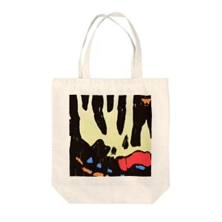 ギフチョウ【Always with Bugs・鱗翅パターン】 Tote bags
