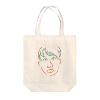 ゆうちゃん Tote bags
