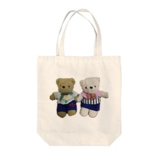 ヒロとユキの夏服 Tote bags