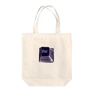 ESC Tote bags